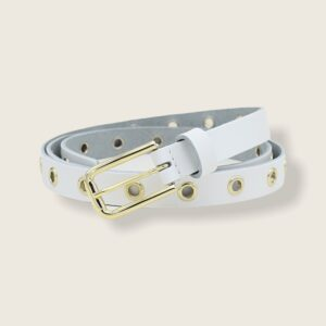 RING BELT | WHITE